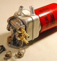 diesel fuel filter remote kit [ 1532 x 1166 Pixel ]