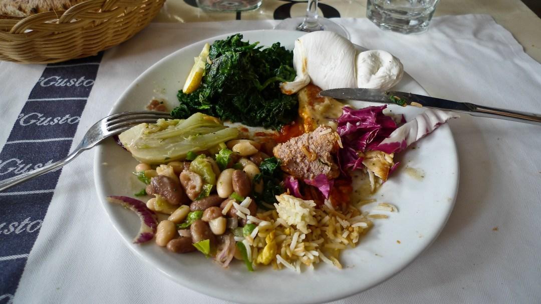 Rome: lunchbuffet bij 'Gusto
