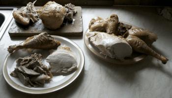 hoe een kalkoen aan te snijden