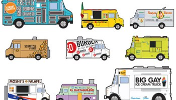 Food Trucks in New York Magazine