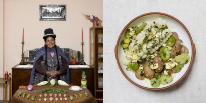 Fotoserie van Gabriele Galimberti: 'In Her Kitchen'