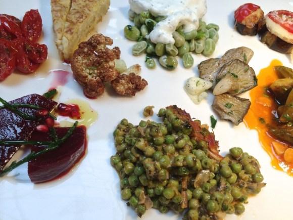 Allerlei heerlijke mezze bij Marres Kitchen in Maastricht