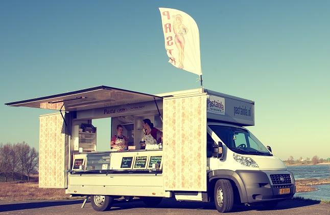 Eén van de reizende sterren uit het boek: food truck La Pastaiola