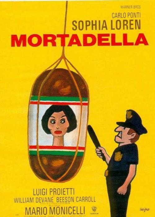 Mortadella met Sofia Loren