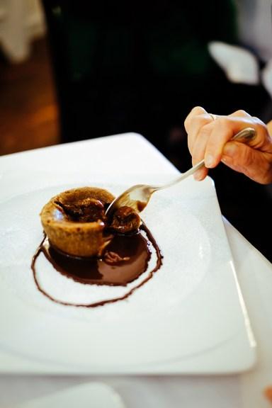 Ristorante La Via del Sale: Torta di nocciole e cioccolato