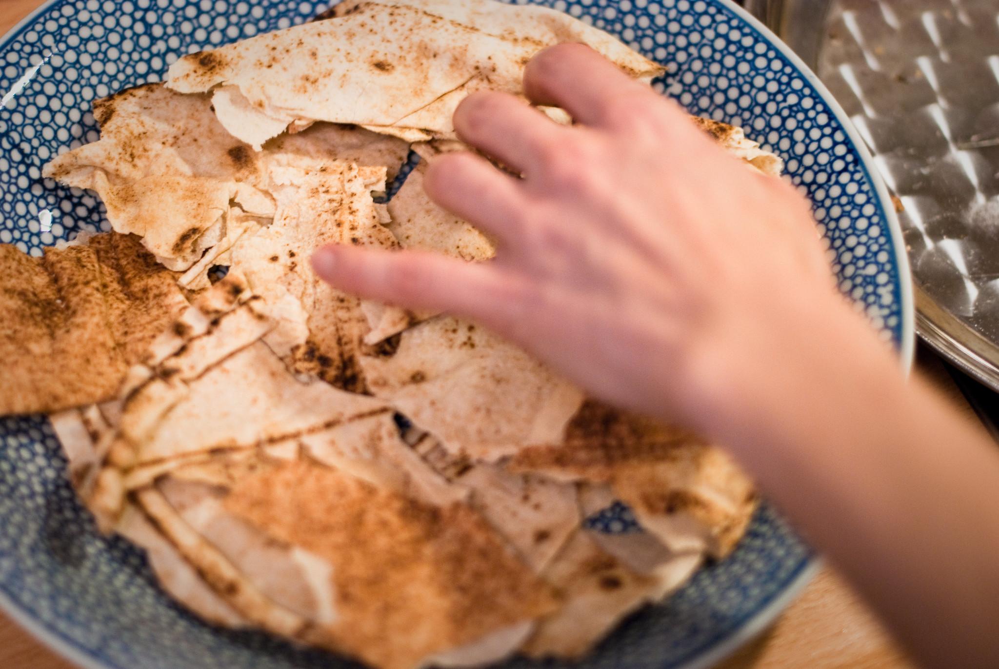 Libanese kip fattee uit Casa Moro