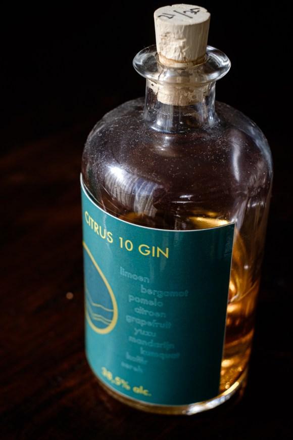 10 Citrus Gin van Olivijn voor in The Harlem Negroni