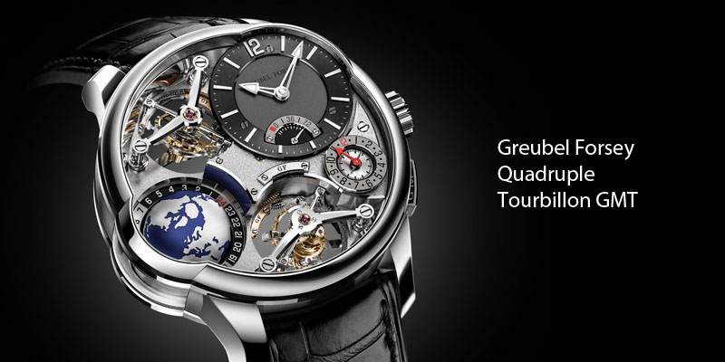 Greubel Forsey Quadruple Tourbillon GMT