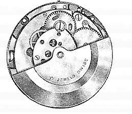 A Schild AS 2062 watch movement automatic