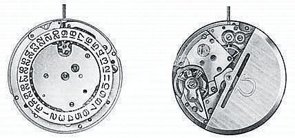 Omega 1012 watch movements