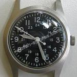 Vintage Military manual winding watch
