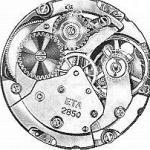 ETA 2852 watch movements