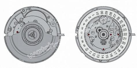 ETA 2894 2 watch movements