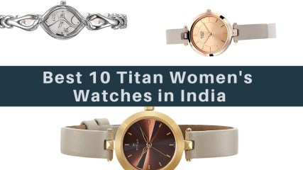 10 Best Selling Titan Women's Watches