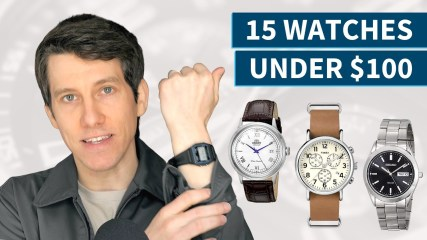 15 Best Watches Under $100 (2020) | Great Affordable Men's Watches
