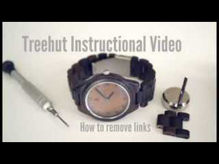 Treehut Wooden Watches | How to resize your Treehut Watch | Tutorial