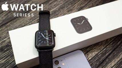 Apple Watch Series 5 Unboxing, Setup & Custom Watch Bands!