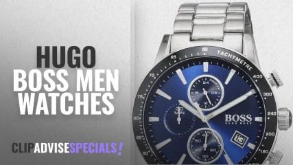 10 Best Selling Hugo Boss Men Watches: Hugo Boss Men's Watch