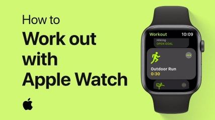 How to work out with Apple Watch