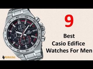 9 Best Casio Edifice Watches For Men