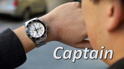 Orient Watch FTT11003W0 TT11003W Captain Men's Watches