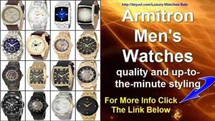 Armitron Mens Watches Best Watches On Sale genuine diamonds
