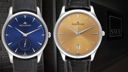 Jaeger LeCoultre Master Grande Ultra Thin Mens Watches 174.8.90.s and 174.8.37.s | SwissWatchExpo