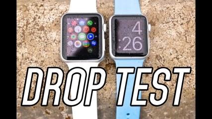 Apple Watch Sport Drop Test & Durability Scratch Test