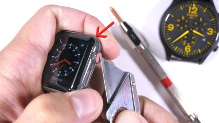Scratching the $1300 dollar Apple Watch - is it really 'Sapphire'?