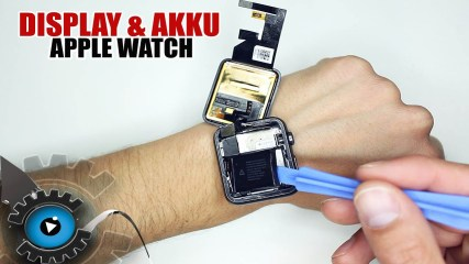 Apple Watch Display & Akku Wechseln Tauschen Reparieren [Deutsch/German]