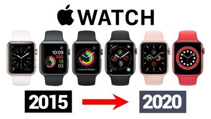 Evolution of Apple Watch 2015-2020