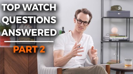 Top Watch Questions Answered Pt. 2 | Crown & Caliber