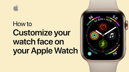 How to customize your Apple Watch face — Apple Support