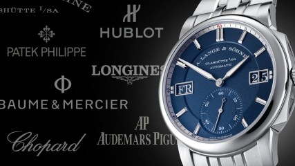 31 Luxury Watch Brands You're Mispronouncing: How To Pronounce Jaeger-LeCoultre, A. Lange & Söhne...