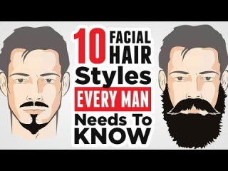 Top 10 Men's Facial Hair Styles (2019) EVERY Man Should Know