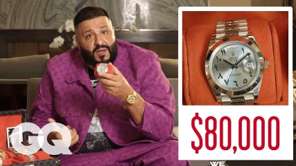 DJ Khaled Shows Off His Insane Jewelry Collection   GQ