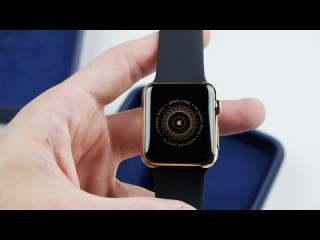 18-Karat Gold Apple Watch Edition Unboxing!