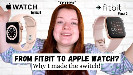 WHY I Switched From FITBIT Versa 2 To APPLE WATCH Series 6! | LisaGetsFit