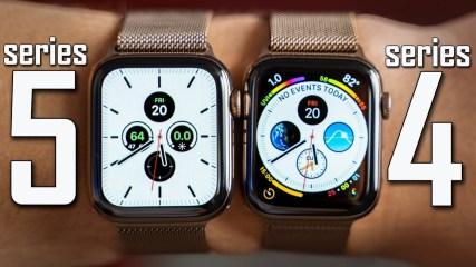 Apple Watch Series 5 vs Series 4 - Full Comparison!