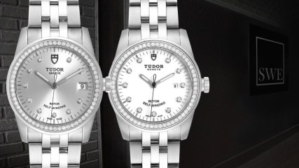 Tudor Glamour Date Silver Dial Mens M55020 and Womens M53020 Watches | SwissWatchExpo