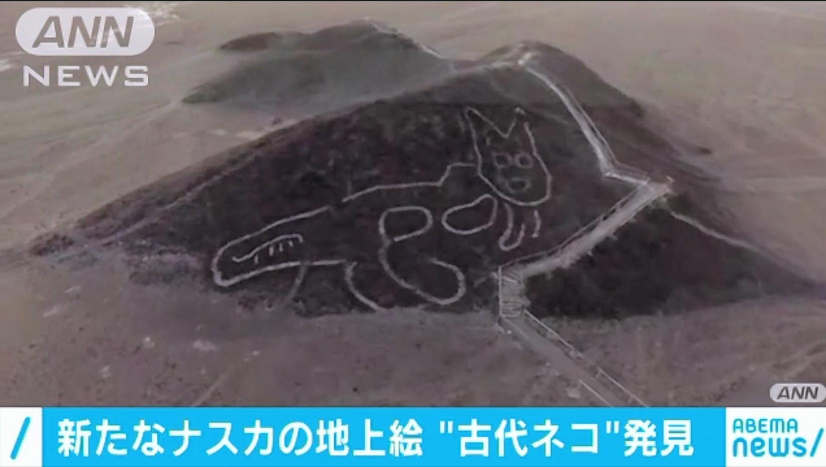 【爆笑】新たに発見された「ナスカの地上絵」wwwwwwwwwwwwwwwwww