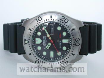 Citizen Promaster Automatic Titanium Diver NY0054-04E