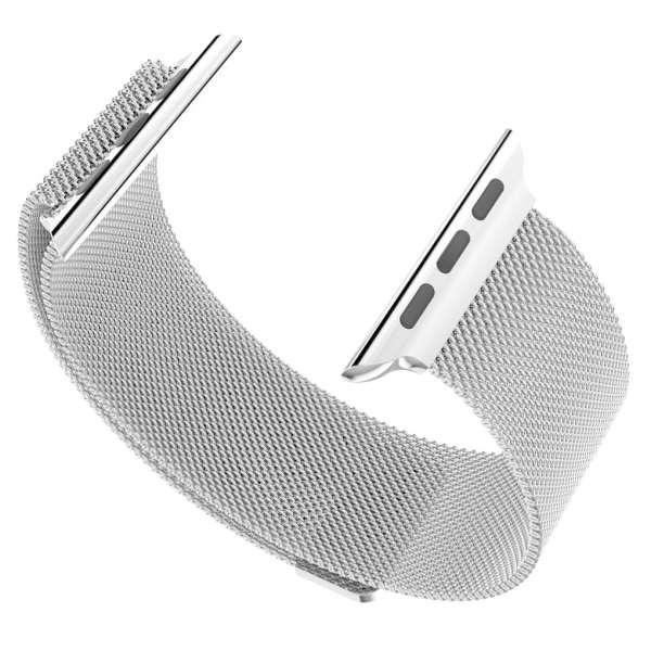 Milanese Loop rvs zilver bandje voor de Apple Watch 42mm-013