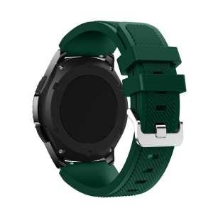 Bandje Voor de Samsung Gear S3 Classic Frontier donker groen-001