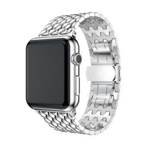 RVS zilver metalen bandje armband voor de Apple Watch iwatch-003