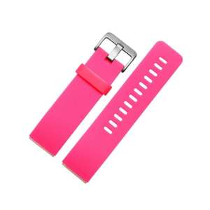 Luxe Siliconen Bandje large voor FitBit Blaze – roze_001