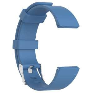 Luxe Siliconen Bandje large voor FitBit Versa – lichtblauw-002