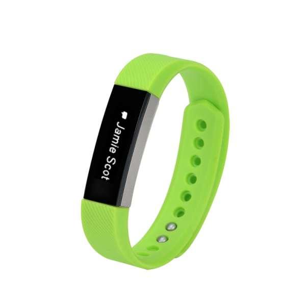Luxe Siliconen Bandje large voor FitBit Alta – groen_004
