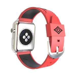 Apple watch bandje 38mm duo rood - zwart_004