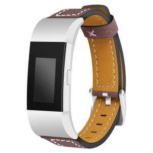 Fitbit Charge 2 bandjes leer bruin_002